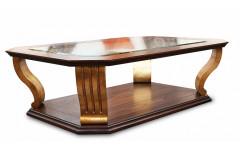 Стол со стеклянной столешницей Антик