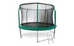 Батут Oxygen Fitness Premium 12 ft inside (Dark green)