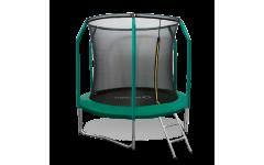Батут Oxygen Fitness Premium 8 ft inside (Dark green)