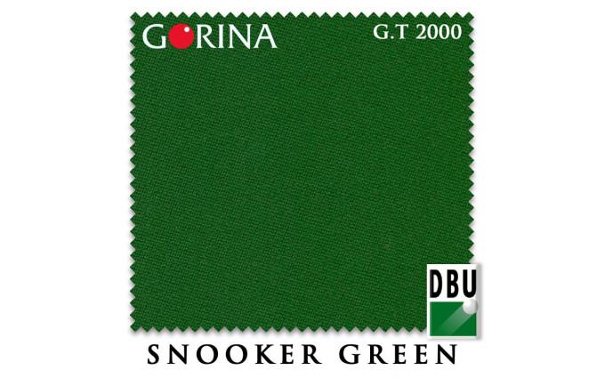 Сукно Gorina Granito Tournament 2000 197см Snooker Green