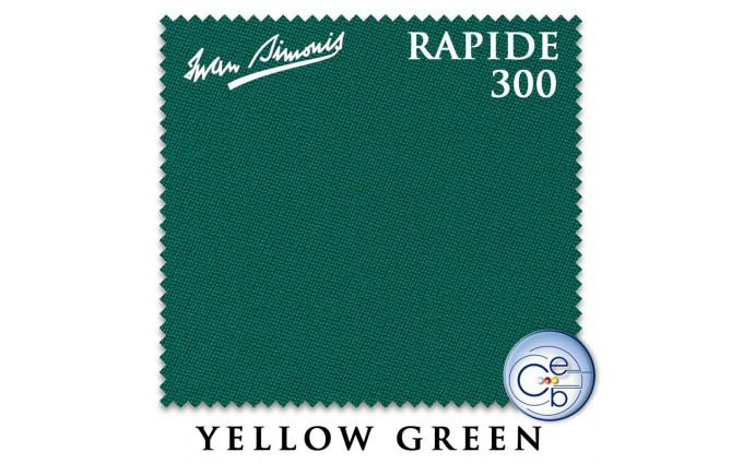 Сукно Iwan Simonis 300 Rapide Carom 195см Yellow Green
