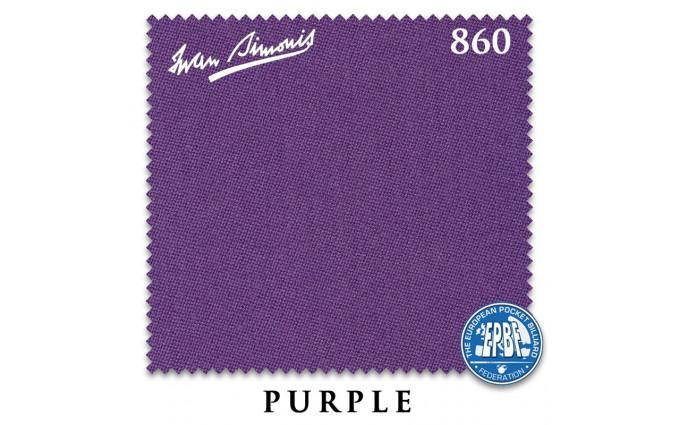 Сукно Iwan Simonis 860 198см Purple