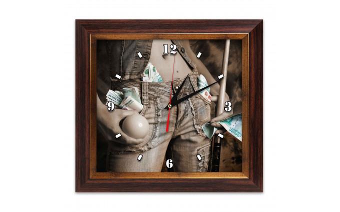 Часы Бильярд AFG7810 38х41см