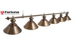 Светильник Fortuna Toscana bronze antique  6 плафонов