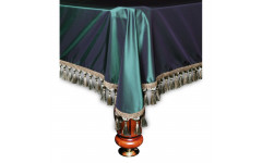 Покрывало Венеция 9фт шёлк зеленое