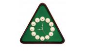 Часы Fortuna Бильярд TR4667 коричневые 50x57см
