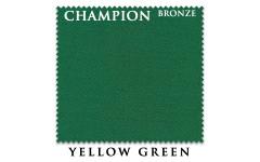 Сукно Champion Bronze 195см Yellow Green