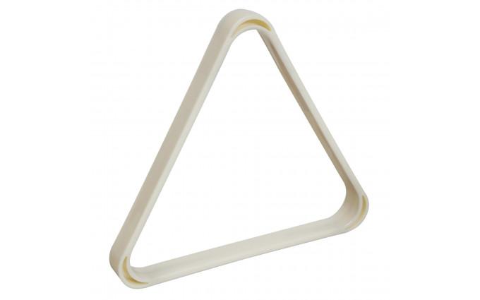 Треугольник Rus Pro пластик белый ø68мм