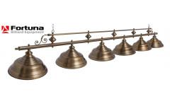 Светильник Fortuna Verona bronze antique  6 плафонов