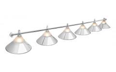Светильник Alison Silver 6 плафонов