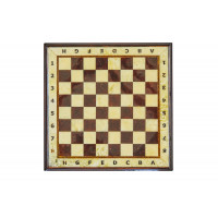 Шахматный ларец из янтаря с доской малый (дуб) 27*27