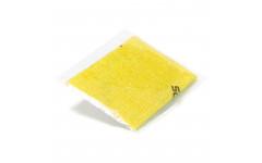 Салфетка для полировки и чистки кия (желтая)